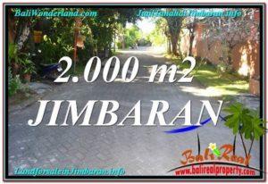 JUAL TANAH di JIMBARAN 20 Are di Jimbaran Uluwatu